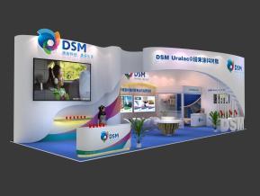 DSM帝斯曼展覽模型