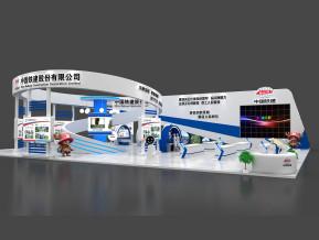 中国铁建展览模型