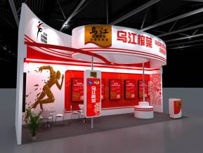乌江榨菜展览模型
