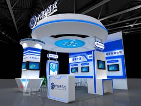 中国科学院展台模型