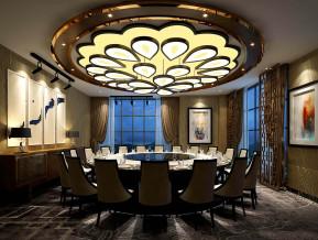 现代餐厅包房