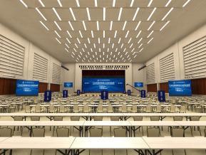 天津梅江会展中心N7会议室舞台