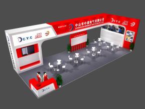 中建電氣展覽模型