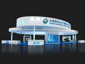 海洋岛水产展览模型