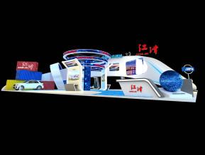 江津政府展览模型