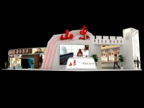 山东展台模型