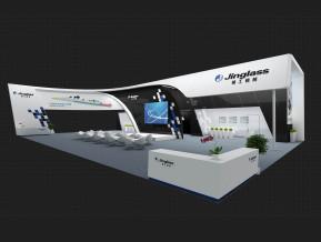 精工机械展览模型