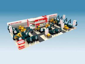 北方交通展览模型