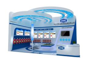 九江中船展覽模型