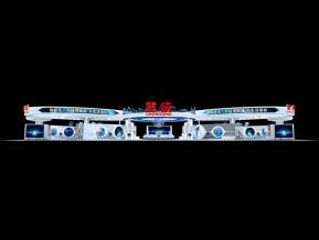 重庆政府展台模型