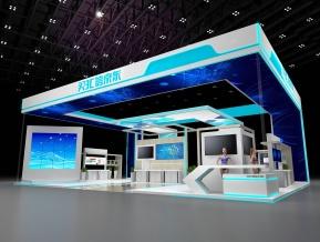 京东3C电子科技展览展示展台模型