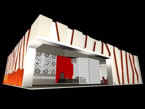 home textiles展台模型