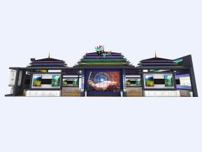 貴州展臺模型