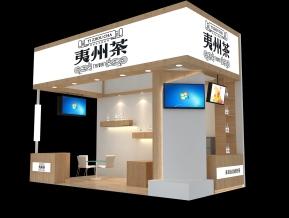武夷茶展览模型