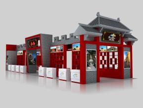 山西展览模型
