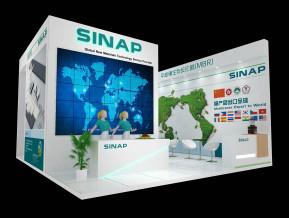 SINAP展览模型