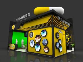 时间胶囊展览模型