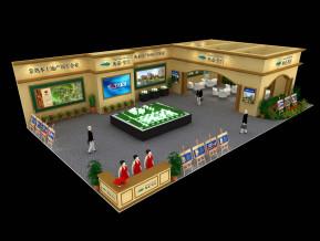 衡泰里宫展览模型