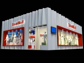 Snow Wolf展台模型