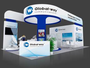 Global way展台模型