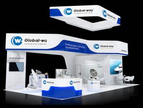Global way展览模型