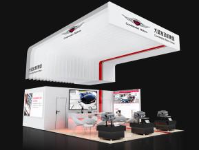 大陆发动机集团展览模型