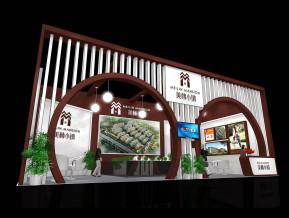 美林小镇展览模型