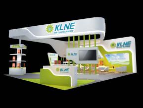 KLNE展台模型