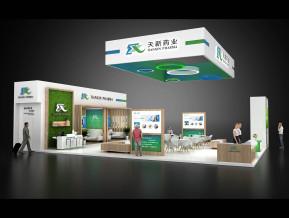 天新药业展览模型