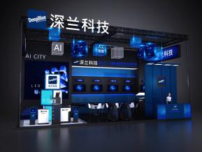 深兰科技展览模型