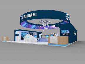 CHIMEI展览模型