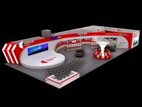 凱越電子展覽模型