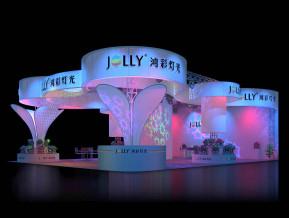 鴻彩燈光展覽模型