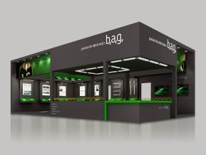BAG展臺模型