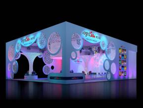 夜太陽展覽模型