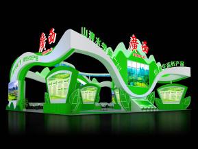 广西展览模型