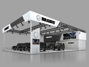 巴博斯展覽模型