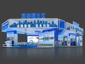 深圳福田區展臺模型