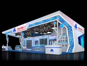 寧波電子展覽模型