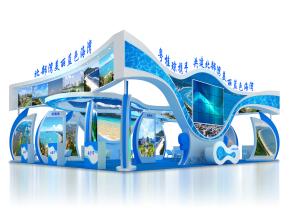 北部湾展览模型