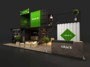 GRACE展台模型