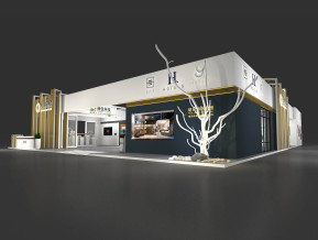 晗月酒店集团展览模型
