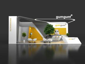 gumgum展台模型