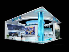 海洋新城展臺模型