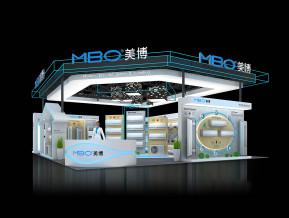 美博空調展覽模型