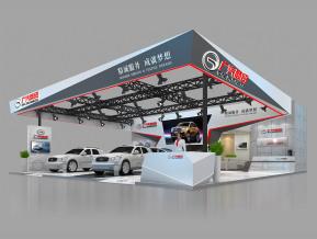 广汽商贸展览模型