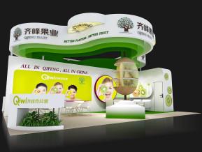 奇峰果业展览模型