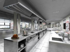 现代工装厨房