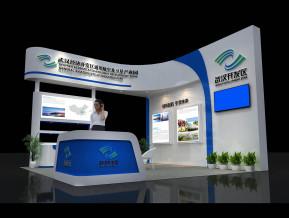 武汉开发区展览模型