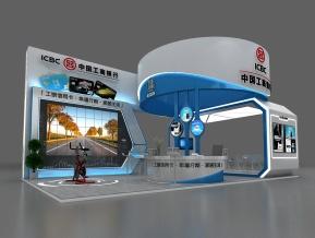 工商银行展览模型
